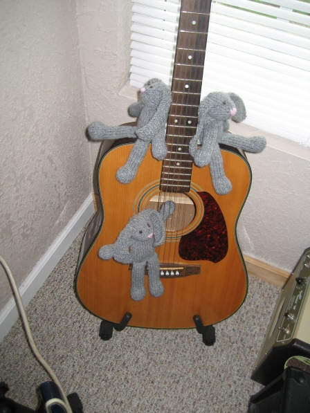 Rabbits on Guitar