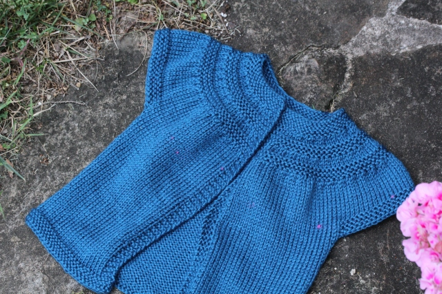 Blue In Threes Cardigan